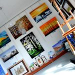 Gails Art Point_Azogires. Display area