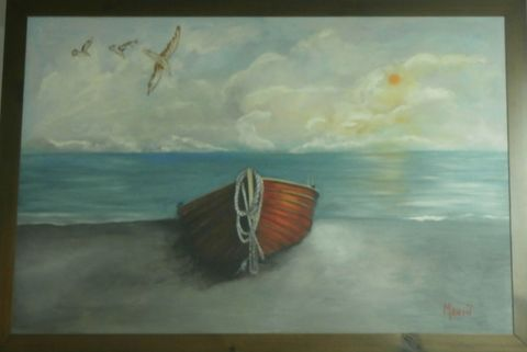 Manto - red boat