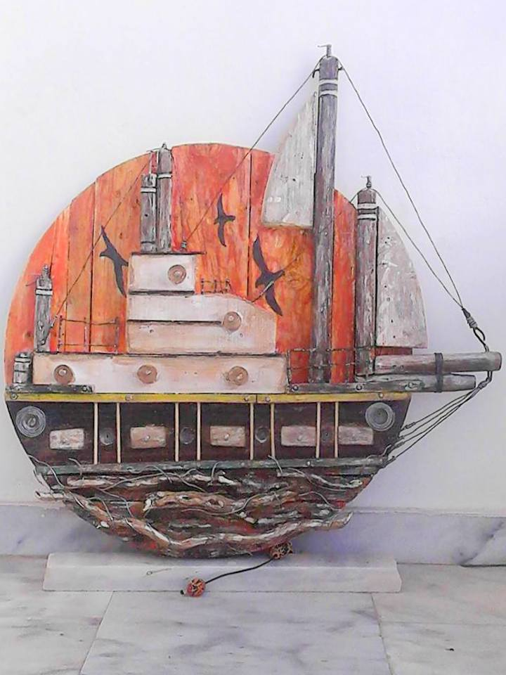 Nektarios Drakakis _ Boat