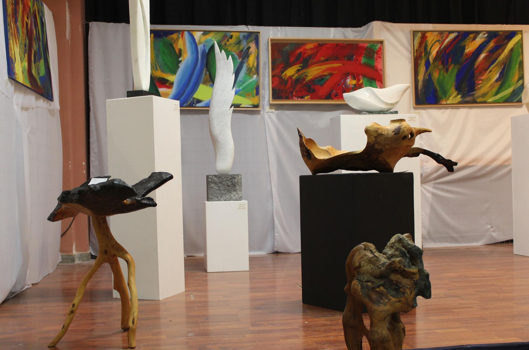 K1600_Skulpturen Sabine Stefanos Gerald