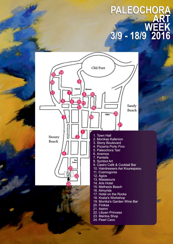 Art Points Map